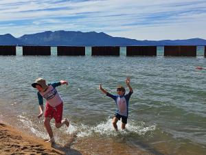 Fun in Lake Tahoe