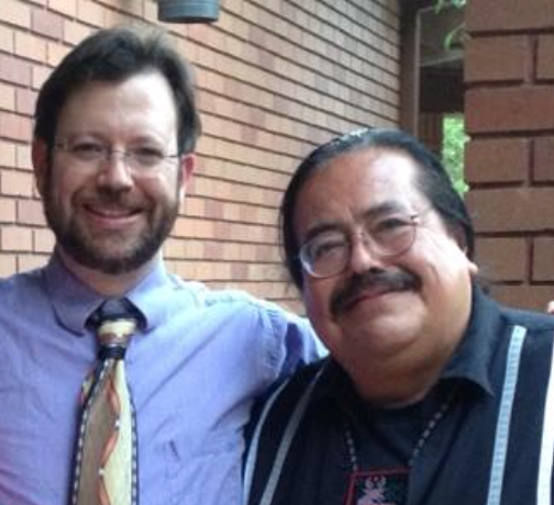 Francisco Alarcon and Dr. Andy