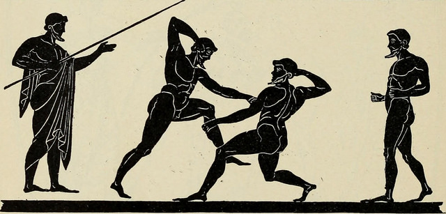 """""""Greek athletic sports and festivals"""" (1910)"""