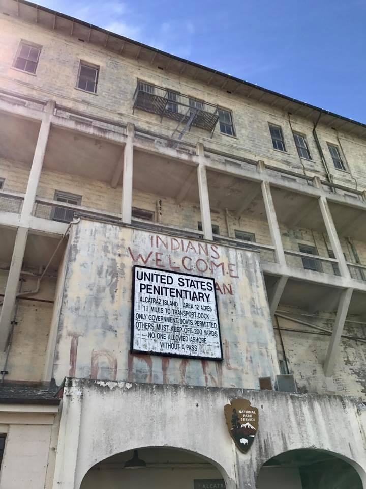 Indians Welcome to Alcatraz